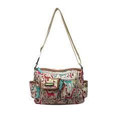 lilly bloom bloom giraffic park libby shoulder bag boscov s