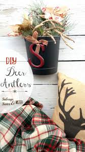 oh deer paper deer antlers salvage sister and mister