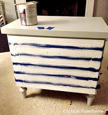How To Repaint A Nightstand Striped Nightstand Makeover 2 Little Supeheroes2 Little Supeheroes