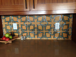 Spanish Tile Kitchen Backsplash Blue Spanish Tile Backsplash Backyard Decorations By Bodog