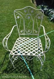 Metal Patio Chair How To Transform Metal Patio Furniture