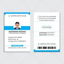 employee id card by thedesignsource graphicriver