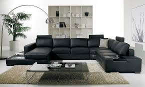 light grey sectional sofa casual natural light clean lines and