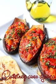 cuisiner les aubergines au four aubergines farcies au four aux poivrons recettes faciles