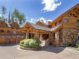 the 10 most expensive log cabins in ski country right now made from giant spruce logs and local stone this 6 bedroom 8 bath cabin is about as loggy as you can get