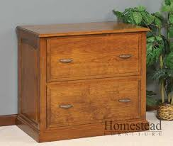 Wood Lateral File Cabinet Custom File Cabinets By Homestead Furniture Made In Usa