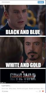 Blue Meme - blue and black dress memes obviously took over the internet last