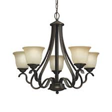 Hton Bay 5 Light Chandelier Shop Chandeliers At Lowes