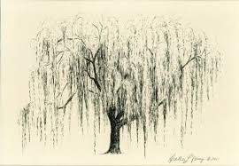 willow tree weeping willow floral tattoos this
