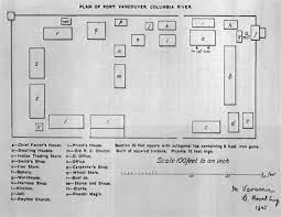 Floor Plan Of A Store Fort Vancouver Nhs Master Plan The Region
