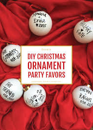 ornament favors christmas ornaments as party favors adorable christmas party