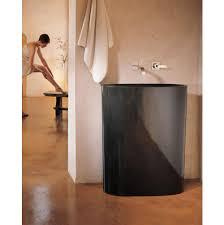 stone forest bathroom sinks pedestal bathroom sinks black the
