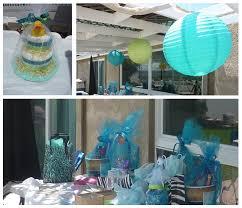baby shower decorations for boy ideas boy blue zebra baby shower