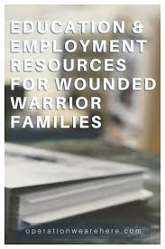 wounded warrior resources education employment