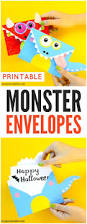 printable monster envelopes envelopes monsters and craft