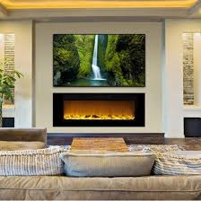 Electric Fireplace Wall by Touchstone Sideline 60
