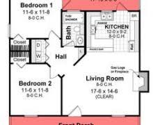 1000 square foot apartment floor plans decohome