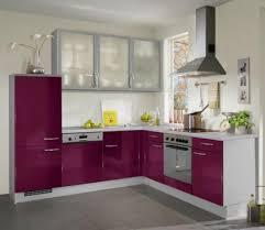 cuisine aubergine et gris fiche cuisine impuls ip2800 aubergine haute brillance