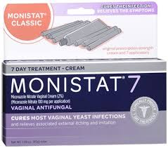 monistat 7 cream disposable applicators 7 each pharmapacks
