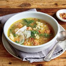 italian wedding risotto soup recipe myrecipes