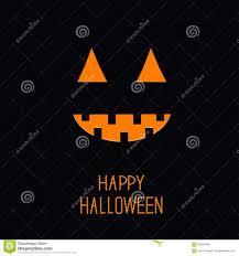 kids halloween background cute pumpkin light in the night halloween card for kids flat