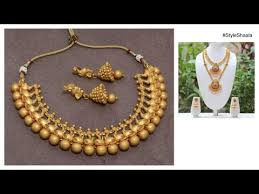 indian bridal jewelry necklace images South indian bridal jewellery 2017 unique gold designs jpg