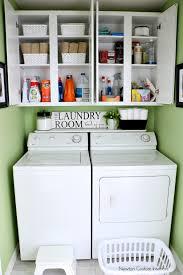 Laundry Room Shelves And Storage Organizing A Small Laundry Room Newton Custom Interiors