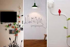 Diy Interior Design 20 Creative Diy Ideas To Hide The Wires In The Wall Room Amazing