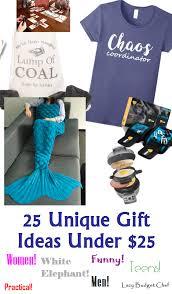 25 dollar gift ideas lazy budget chef 25 unique gift ideas under 25 dollars
