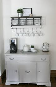 diy coffee bar in gray the definery co