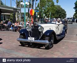 dh napier new zealand classic vintage car 1931 parading streets