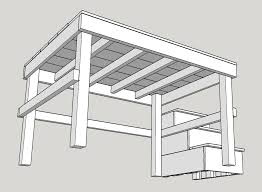 Free Standing Shelf Plans by Planning The Loft U2013 Xephyrus Journal