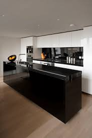 contemporary black kitchen cabinets 31 black kitchen ideas for the bold modern home modern