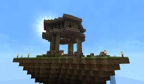 minecraft floating house ideas