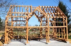 Timber Dormer Construction Timber Framed Carriage Shed Raising Hugh Lofting Timber Framing Inc