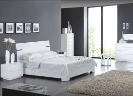 chambre grise et chambre deco gris et blanc