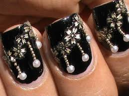 pearl nail art design with beads from sammydress com pearls nail