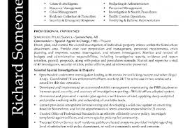 Law Enforcement Resume Examples by Example Assistant Chief Of Police Resume Free Sample Law