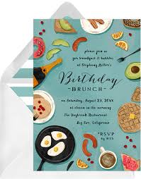 brunch invitations but brunch invitations in green greenvelope