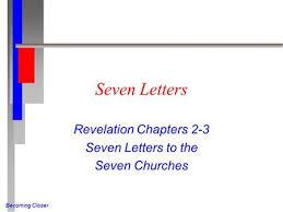 revelation 2 3 seven letters revelation 2 3 last week