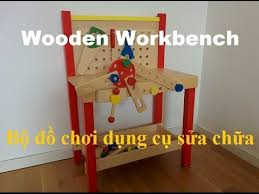 Boys Wooden Tool Bench Houten Speelgoed Werkbank Wooden Workbench Toy Nice Toys For