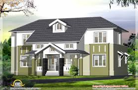 2400 sq ft sloping roof house elevation kerala home design and