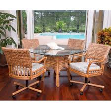 wicker kitchen furniture rattan and wicker dining room furniture sets dining tables and