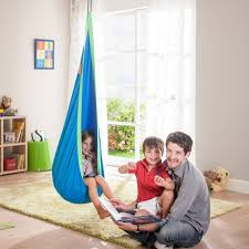 siege gonflable cocoon enfant hamac cocoon bébé pod swing enfant pendu siège chaise coton