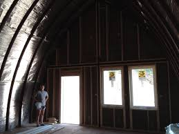 Inside Of House by Arched Cabin Build Day 6 Rimland Tales