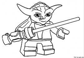 print lego star wars yoda coloring pages printable coloring