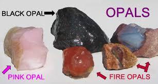 types of opal gemstone id