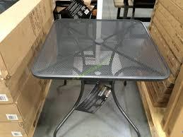 Sunvilla Bistro Chair Sunvilla Micro Mesh Commercial Bistro Table Costcochaser