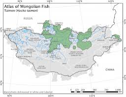 Rutgers Map Atlas Of Mongolian Fish Christopher M Free