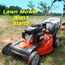 how to fix a lawn mower that won u0027t start dengarden